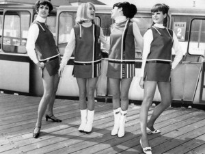 MODE-MINI JUPE-1966